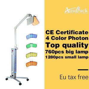 EU TAX GRATUIT Professionnel BIO luminothérapie Photon LED Rajeunissement de la peau traitement de l'acné PDT machine de salon de beauté