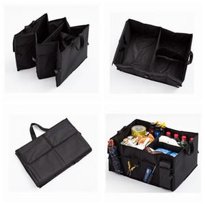 53 * 38 * 26.5CM حقائب السيارات جذع منظم السيارات ألعاب الغذاء تخزين الحاويات الداخلية مربع السيارات أكياس اكسسوارات طوي التخزين ZZA1680-3