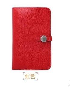 LuxoHERMES # carteira titular do cartão de crédito ID saco de mulher bolsa de passaporte embreagem couro carteira de couro genuíno bolsa bonita senhora feminino