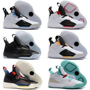Chegada Nova Jumpman XXXIII 33 Shoes Mens Basketball para barato alta 33s Qualidade Multicolors Preto Amarelo Retros AirretroJorda 40-46
