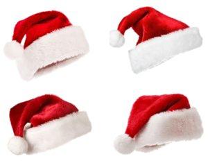 Рождество Cosplay Hat платье плюша проложенный Высокое качество Рождество Hat Короткие Плюшевые Рождество Hat для взрослых красный Санта горячие детали