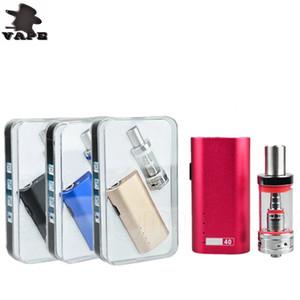 Lite 40w Starter Kit Box Mod Mini Lite Box Mod Bulit-In 2200mAh Batterie Verdampfer Kits 3ml Lite Tank vs Topbox Mini DHL frei