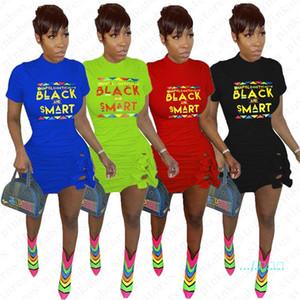Negro inteligente del verano mujeres se visten de imprimir cartas de moda del Bowknot Vestidos bodycon del vendaje atractivo del mini vestido de noche vestidos de fiesta de Clubwear D5604