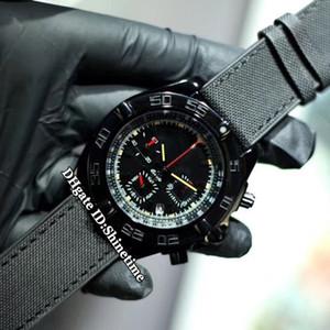 Alta calidad Chronomat MB0111C3.BE35.253S.M20DSA.2 multifunción Dial Japón VK cronógrafo de cuarzo del reloj para hombre Relojes PVD caja de acero