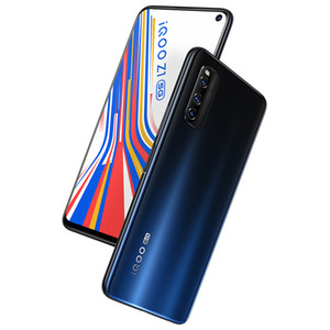 "Original VIVO iQOO Z1 5G LTE Handy 6 GB RAM 128 GB ROM MTK 1000 Plus Octa Kernandroid 6,57"" 48MP Face ID Fingerabdruck-intelligentes Handy"