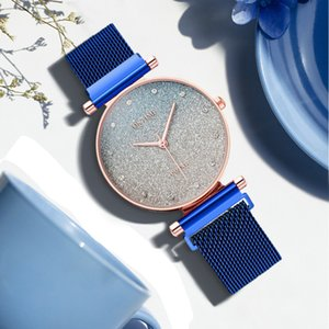 Female Fashion Sky Watch Magnet Band Women Quartz Diamond Wristwatch Watches Ladies Wrist Watch #11