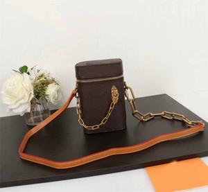 فاخر مصمم حقيبة يد محفظة L زهرة الهاتف مربع 2020 نمط جديد حقيبة السيدات حزام سلسلة الكتف محفظة المرأة ذات جودة عالية حقيبة