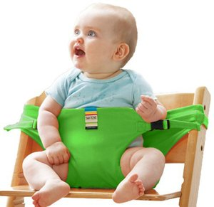 Baby Chair Portable Seat Dining Lunch Chair Seat Safety Belt Stretch Wrap Feeding Harness Baby