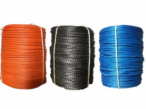 High Quality 3mm x 30m Synthetic Winch Line UHMWPE Fiber Rope Towing Cable Car Accessories For 4X4 ATV UTV 4WD OFF-ROAD