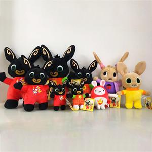 25 centimetri bing peluche simpatico coniglietto 6 stili bambole coniglio animali di peluche della bambola della peluche del fumetto all'ingrosso giocattoli regalo di Natale