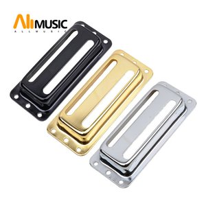10Pcs Two Line Metal Brass Electric Guitar Pickup Humbucker Pickup Covers  Lid Shell Top - Chrome Black Gold