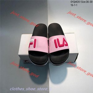 marque Men Letter Print Beach SFlat lipper Fashion Women Soft Rubber Sole Flat Slides Sandal Size EU35-39 xshfbcl