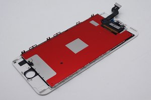 ل فون 6 ثانية زائد lcd عالية الجودة لا الميت بكسل لمس الشاشة محول الأرقام الجمعية مع الإطار مع أجزاء صغيرة repalcement التجمع أجزاء