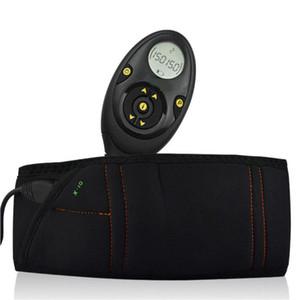 Maschio 150 livelli di intensità EMS ricaricabile muscolo stimolatore muscolare addominale toner dimagrante cintura Flex con scatola al minuto