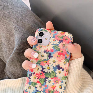 2020 Hot Ins Korean style Flower Phone Case For iPone 11Pro 11ProMax 11 X XS XR XRMAX 7&8 7p&8Plus