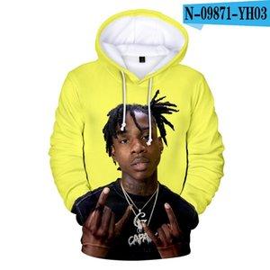 Oversized hoodies Hip Hop Rapper G Taurus Tremani BartleAlbum 3D Hoodie Sweatshirt Men Women Harajuku Clothing Pullovers