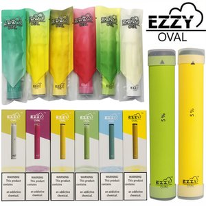 EZZY OVAL Disposable Vape Pen Device 1.3ml Pods Starter Kits Vaporizer Pens Cartridges Packaging Empty Electronic cigarettes Atomizers