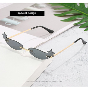 2019 Luxury Italian Brand Sunglasses Women Crystal Square Sunglasses Mirror Retro Full Star Sun Glasses Female Black Grey Shades nP4Ro MTarE