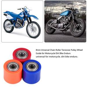 Мотоцикл аксессуары ролик натяжитель шкив 8 мм цепи ролик натяжитель шкив колеса направляющая для мотоцикла