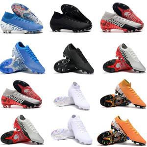 NJR Altında Radar Büyük Çocuk Gençlik Genç Erkek Mercurial Superfly 13 7 Elit Futbol Boots SE FG Düşük Yüksek Futbol Profilli Ayakkabı
