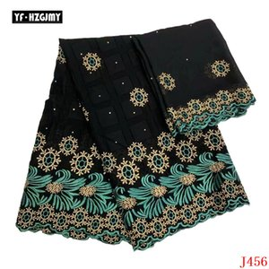 YF HZGJMY New design hot sale Nigeria cotton lace fabric 2020 African cotton swiss voile lace in switzerland high quality A456