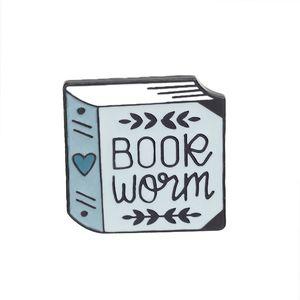 I libri sono magici Pin Spille serie di libri di jeans dello smalto distintivi di apprendimento regalo per il commercio all'ingrosso dei monili insegnante studente