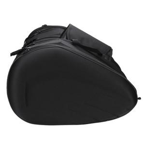1 Pair Of Motorcycle Side Saddle Bag Universal Motorbike Outdoors Waterproof Package Luggage Helmet Bags Chr