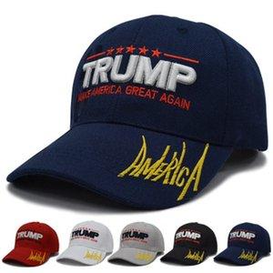 Yeni Stiller Donald Trump 2020 Beyzbol şapkası Makyaj Amerika Büyük Yine 3D Şapka Nakış Başkanı Trump Caps ZZA1399-20 30pcs