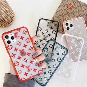 caixa do telefone de luxo designer para iphone 11 Pro Max 7 8 XS XR xs máximo de silicone caso macio celular