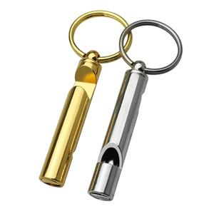 في الهواء الطلق نصيحة الماكياج ذهبية فضية الاطفال ترويج الطوارئ سلسلة المفاتيح هدية معدن شعار مخصص نقش البيرة فتاحة النبيذ زجاجة مخلب صافرة مع كيرينغ