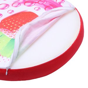 Fruit Cushion Seat Chair Cover Throw Pillow Strawberry Style Pillow