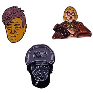 Twin Peaks smalto pin Lynch dono spilla appassionati di cinema