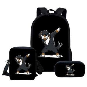 Школьная рюкзак школа рюкзак bernese девочек сумки plecak дети эсколары infantis дети горная собака satchle mochilas imido tmicr
