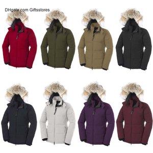 New DESIGNER Winter Fashion Jacket Canada Luxury Jacket Women DESIGNER Outdoor Warm Fur Down Jacket For Sale