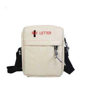 2020 сумки Креста тела с Letter Printed Проектировщик Сумка Мужчины Оксфорд плеча Роскошный Cross-Body Bag Zipper для женщин