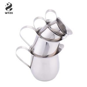 Мини-чашка молока из нержавеющей стали соус сгущенное молоко чашки барабанной формы чашки кофе посуда молочные кувшины