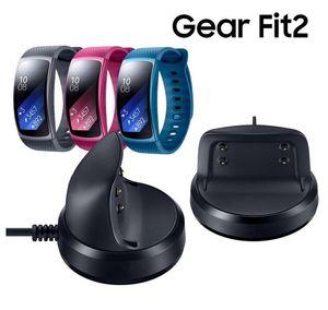 أسود الذكية الساعات شاحن 5 فولت 1a جودة عالية usb شحن مهد حوض شاحن لسامسونج جير Fit2 smartwatch SM-R360