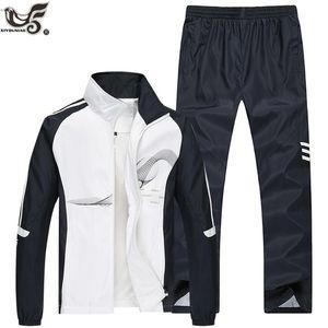 Tracksuit Men Two Piece Clothing Sets Casual Jacket+Pants outwear sportsuit Spring Autumn Sportswear Sweatsuits Man