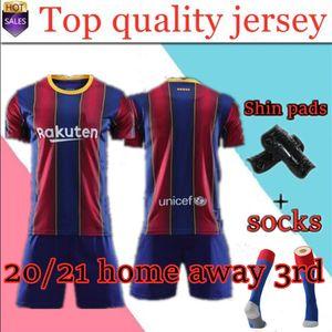 2020 2021 novas camisas homens de futebol 2019 2020 camisa caçoa o futebol camiseta de Fútbol maillot de camisas de futebol pé completos kits + meias e Shin pa