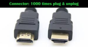 4.92FT 150cm 9.84FT 300cm 1.4V 4K Câble HDMI avec câble Ethernet mâle à mâle 1.4V 3D 1080P 4K * Câble HDMI