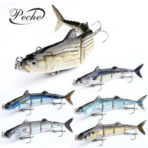 16 centimetri 32g Fishing Lure Sinking Wobblers Multi snodati swimbait duri esche per attrezzatura da pesca Strumenti di Pesca Artificiale Pike Carp Fishing Tackle