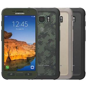 """Yenilenmiş Orijinal Samsung Galaxy S7 Aktif G891A 5.1"""" Dört Çekirdekli 4GB RAM 32GB ROM 12MP Sağlam Açık Unlocked Telefon DHL 1PC"""
