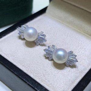 925 En Argent Sterling boucles D'oreilles supports bijoux pièces raccords femmes de Accessoires pour Perles cristal Agate corail jade pierre