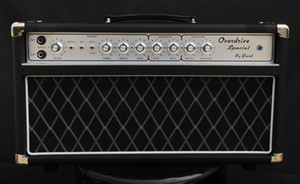 Grand Dumble Boutique Hand-wired ODS50 Overdrive Special Amplifier Head 50W in Black Custom Faceplate is Available free shipping