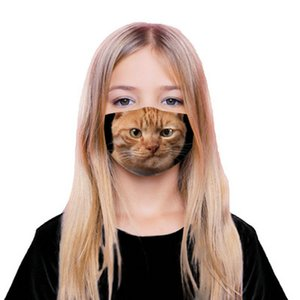 5 x фильтр буксировка анти-смог активированный уголь 5 слоев Маска смайлик кошка 3D печатная маска tapabocas con filtro para газы y пары