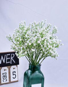 Gypsophile Babys Breath Fleurs artificielles soirée de mariage Décoration Fleurs Faux