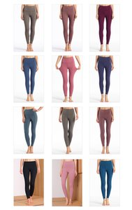 2020 Womens Designer Leggings Fashion Brand Spring Summer Leggings Nude Pants Tight Bodysuit Yoga Pants 10 Colors 2020 Hot
