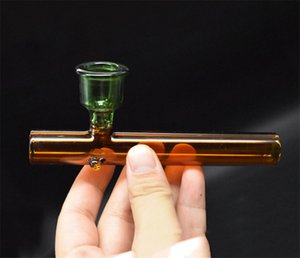LABS Steamrollers a mano in vetro cucchiaio Pipa Pipe Tobacco cucchiaio Dab Rig Bubbler secca erba pipa ad acqua in vetro con il grande formato ciotola di fumare