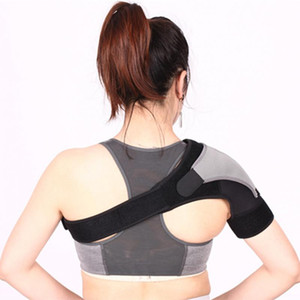 Regolabile spalla sinistra a destra Bandage Protector Brace Joint Pain infortunio alla spalla della cinghia di sostegno Training Attrezzatura sportiva
