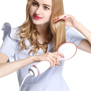 One Step Hair Dryer Styler Comb Hot Air Paddle Brush Anion Generator Hair Straightener Eliminate Frizzing Tangled & Knots